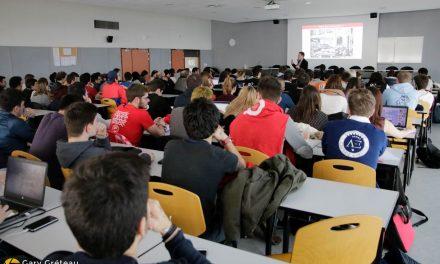 Charly Bonzon et Adrien Fargeas ont représenté le BDE de l'UPSSITECH