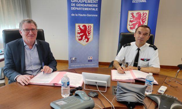 Accord avec la Région de Gendarmerie d'Occitanie